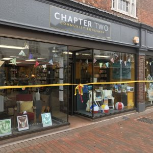 """ Chapter Two "" charity Book shop, Chesham, Hospice of St Francis"