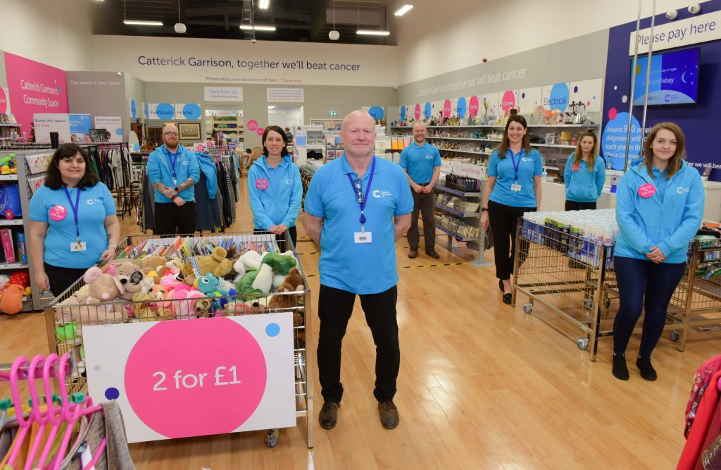 Cancer Research Uk, charity Superstore, Catterick DL9 3JG
