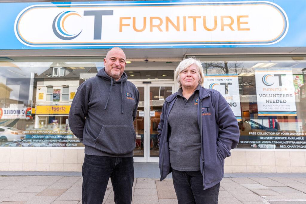 CT Furniture, Charity Shop, Northfield, Birmingham