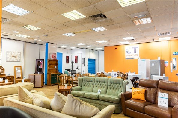 CT Furniture charity shop, Northfield, Birmingham